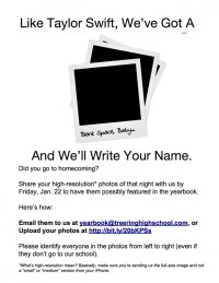 Yearbook Crowdsource Flyer (Blank Space Version) — TreeRing-3