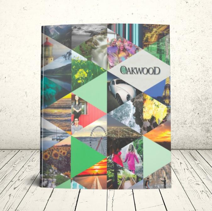 Oakwood School Yearbook Cover 2015-2016