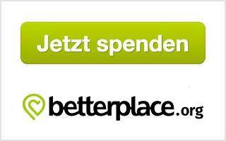 ¡ Dona ahora! El formulario de donación es proporcionado por betterplace.org.