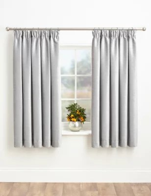 Grey Curtains Silver Amp Charcoal Ready Made Eyelet Curtains MampS