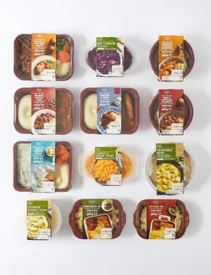 m s traditional meals food box m s