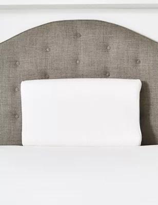 coolmax contour extra firm memory foam pillow