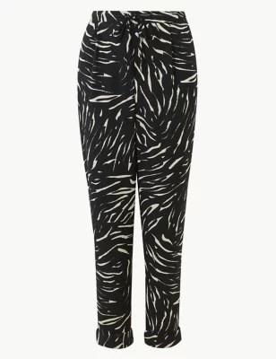 Купить Зауженные женские брюки длиной до щиколотки M&S ...