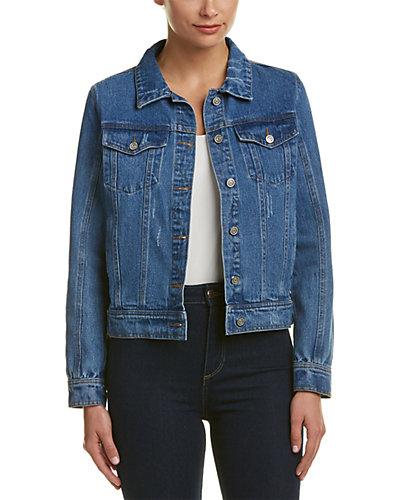 jean jacket seen on Wendy Williams Trendy@Wendy