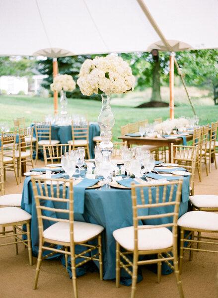 Du Bleu Pour La Dcoration De Votre Mariage En 2016
