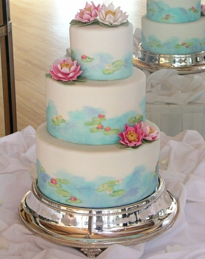 Unique Wedding Cakes Inspired By Art