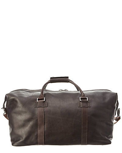 Kenneth Cole leather duffel seen on Wendy Williams deals ruelala