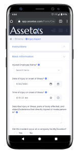 Complete Incident Forms on any device