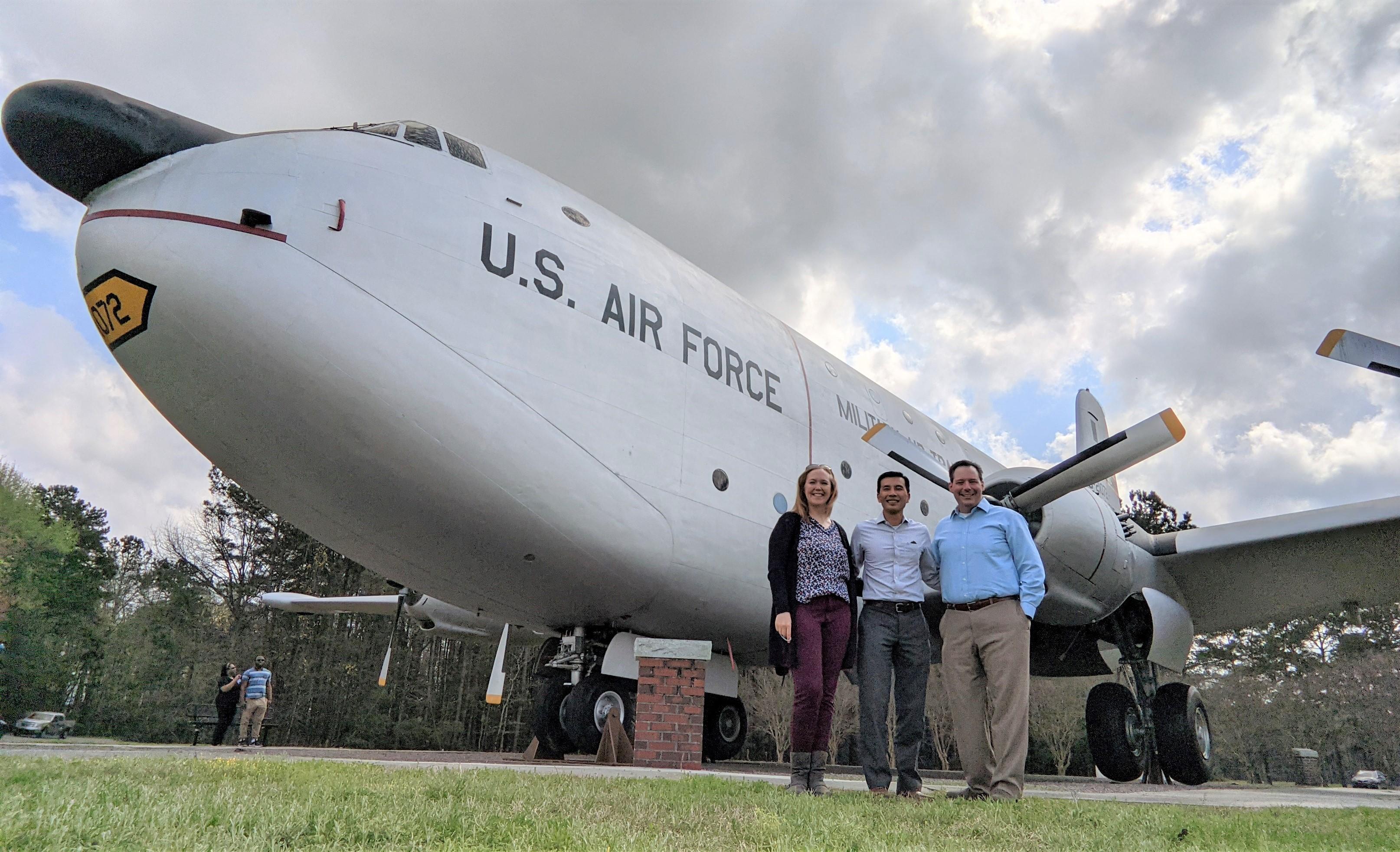 Assetas Travels to Joint Base Charleston