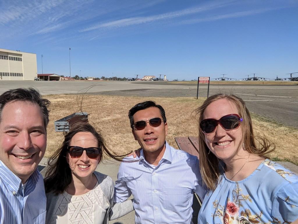 Assetas Travels to Travis Air Force Base