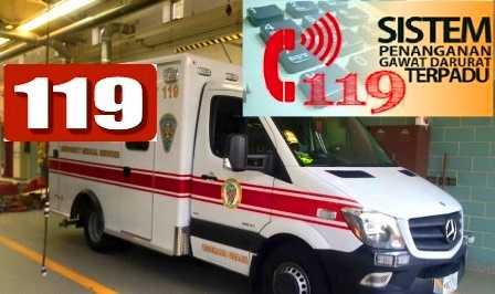Butuh Ruang Perawatan di RS, Telepon  119