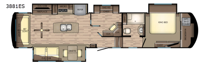 Redwood Fifth Wheel Rv Sales 16 Floorplans
