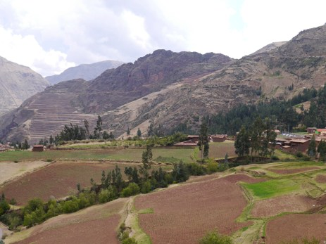 View from just above the Chahuaytire weaving center.