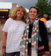 ClothRoads Linda Stark with Jo Smith of Ock Pop Tok.