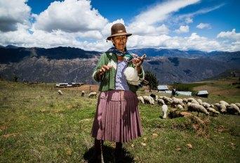 Spinning in Huancarani