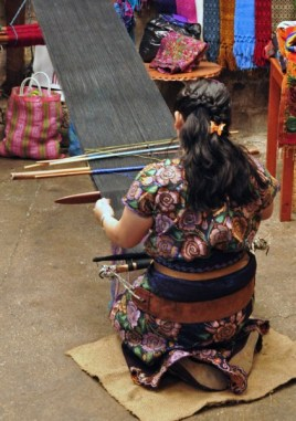 Backstrap weaving the base cloth for shawls, skirts, and tunics--and now runners.