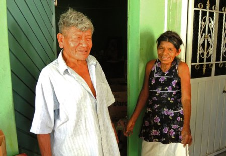 Oaxacan spindle makers--Antonio and his wife Maria