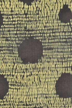 A stitched shibori pattern by Aziz.