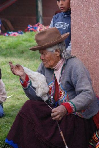 An elder from the Mahuaypampa community.