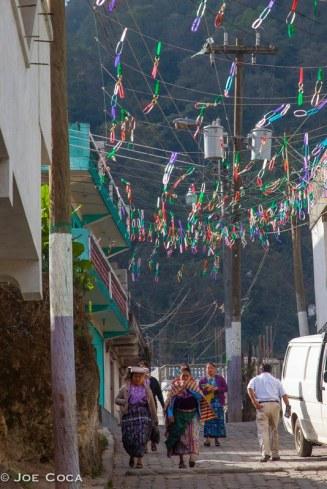 Street scene in Zunil.