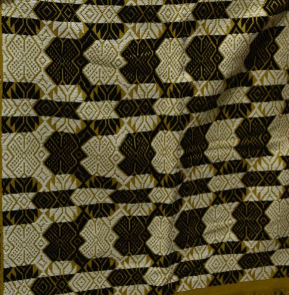 A ProTeje woven cloth inspired by a piece from the Museum's collection.
