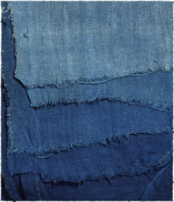 Always in style: Once again, indigo fabrics are part of the fashion landscape.