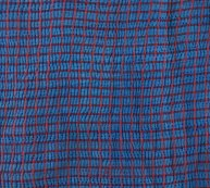 Wrinkly texture of kantha textile.