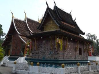 One of many wats throughout Luang Prabang.