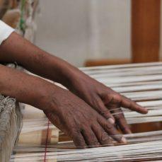Weaving in Ethiopia. Photo courtesty Creative Women.