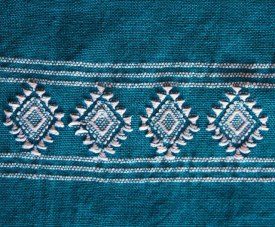 Star design has been on textiles since the Classic Maya Period.
