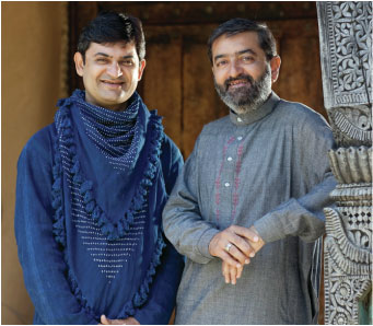 Abduljabbar Khatri (left) founded SIDRcraft with his brother Abdullah (right). Photo credit SIDRcraft.