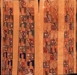 Image PC.B.500 Tunic; Wari, Middle Horizon 650-800 CE; 101.3 x 100 (39.9 x 39.4); wool, cotton.