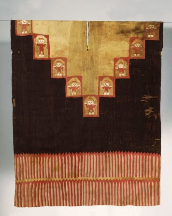 Image PC.B.505 Provincial Tunic; Inca Provincial, Late Horizon; 1450-1540 CE; 87.9 x 72.4 (34.6 x 28.5); wool, cotton.
