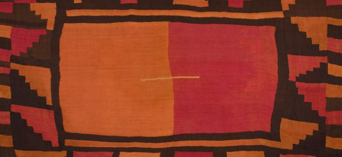 Tunic (Cushma), Wari culture, Southern Andes, alpaca wool, c800 AD, 251x155cm. Courtesy: Paul Hughes Collection.