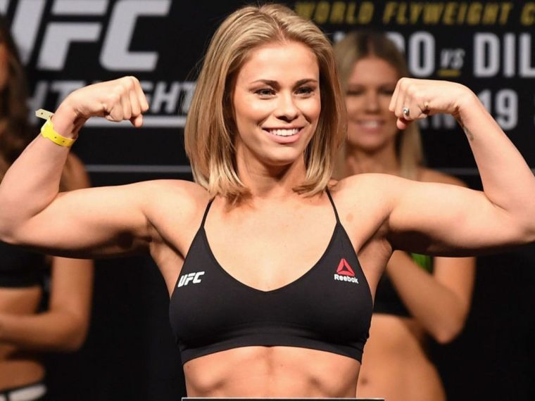 Paige Vanzant spoke about her passion for fist fighting.