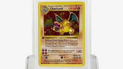 Charizard First Edition 1999 #4 Holographic Pokemon card