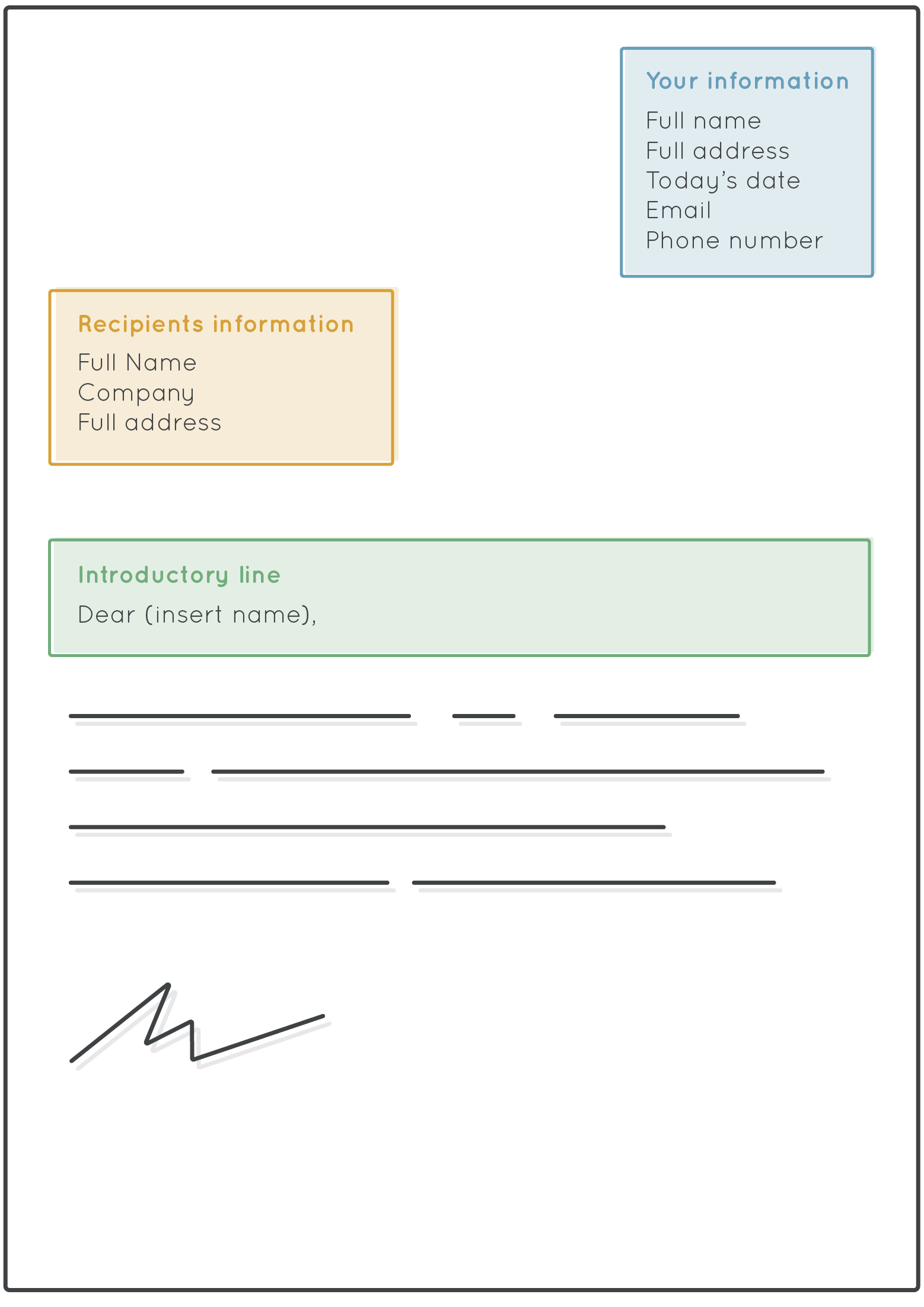 How To Write A Formal Letter Format Amp Template