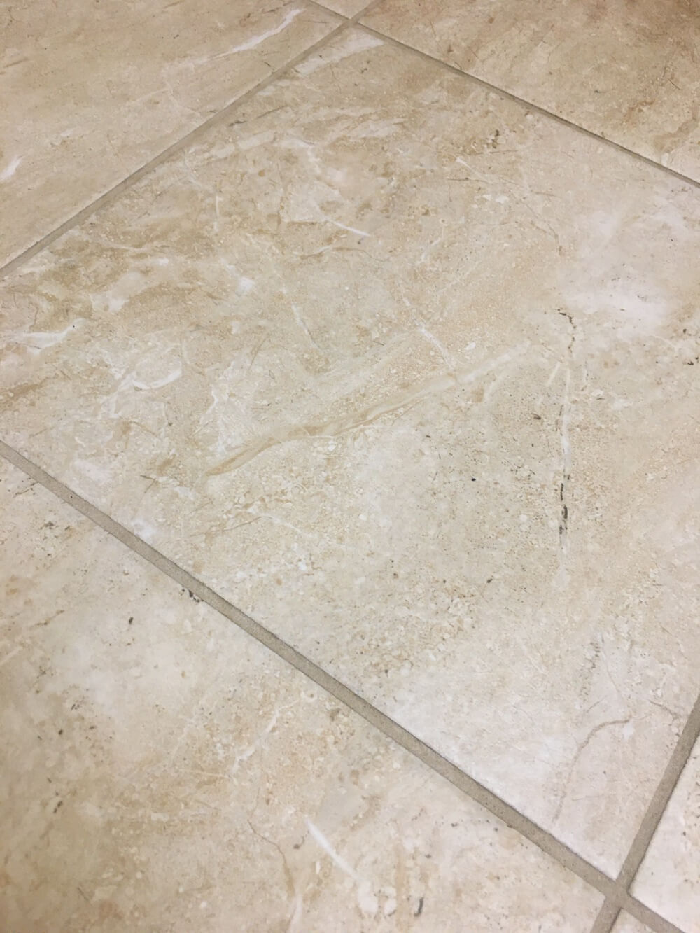 how to deep clean tile floors grout