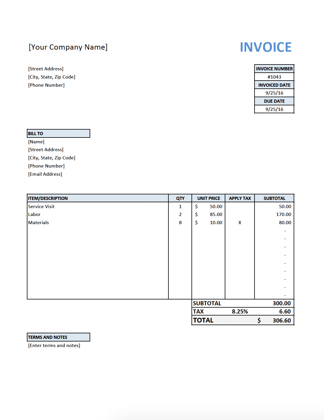 This plumbing work order template helps organizations which handle the requests to keep up or repair the pipe work presented to send redirect or water waste. Guide To Professional Plumbing Invoices Fieldpulse