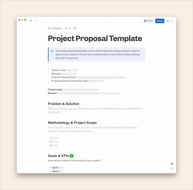 How to Write a Perfect Project Proposal in 17
