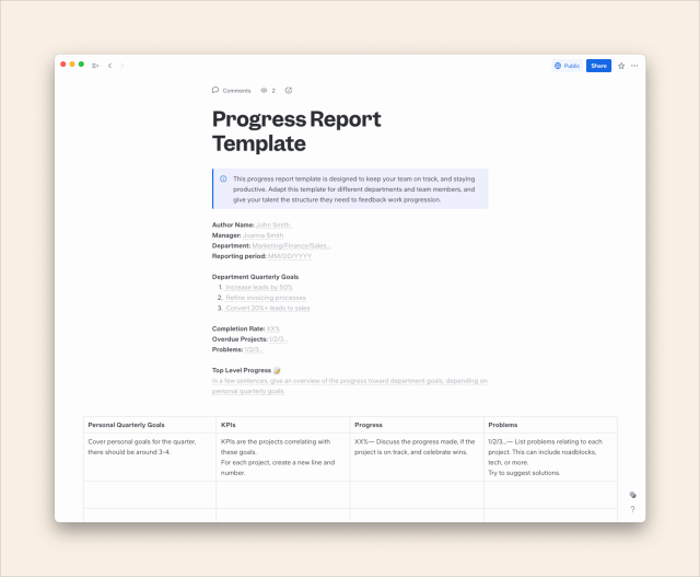 How to Write a Progress Report: A Step-by-Step Guide