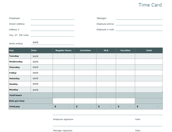Zervant made this simple timesheet template to help you keep track of all the hours you work. Timesheet Templates The Good The Bad The Pointless