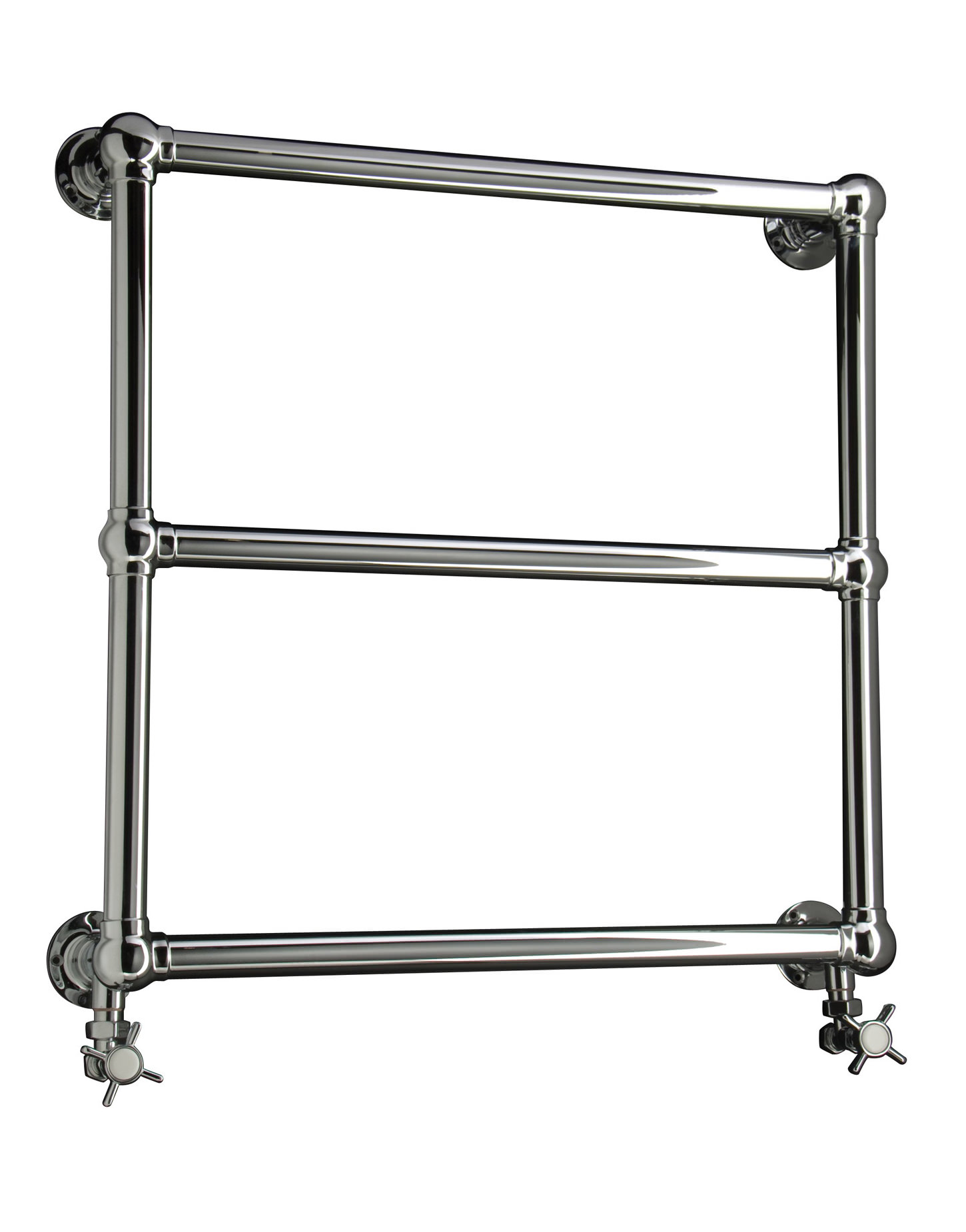 Dq Heating Hockwold Wall Mounted Towel Rail 846mm X 694mm