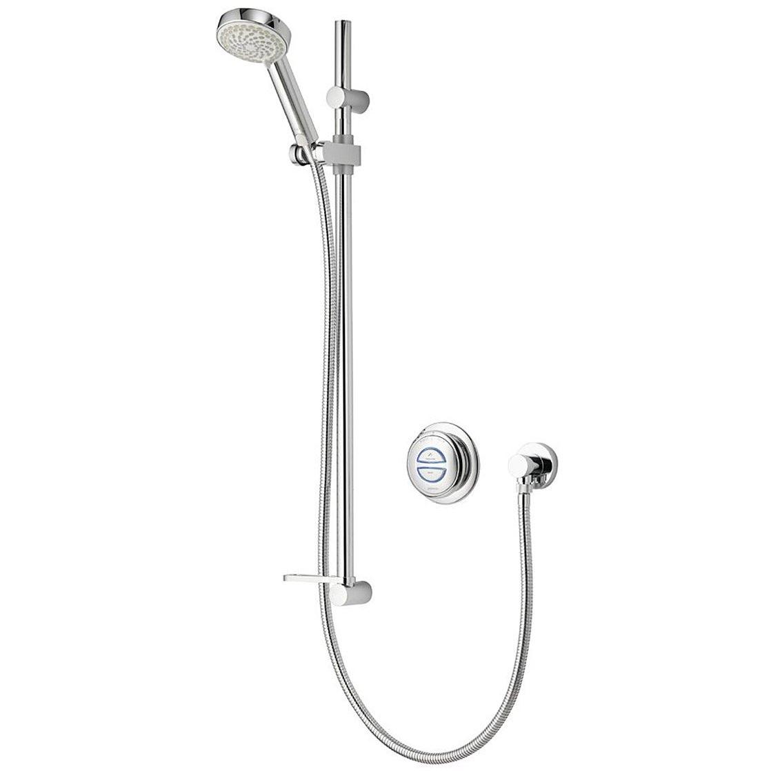 Aqualisa Quartz Concealed Digital Shower Slide Rail Kit