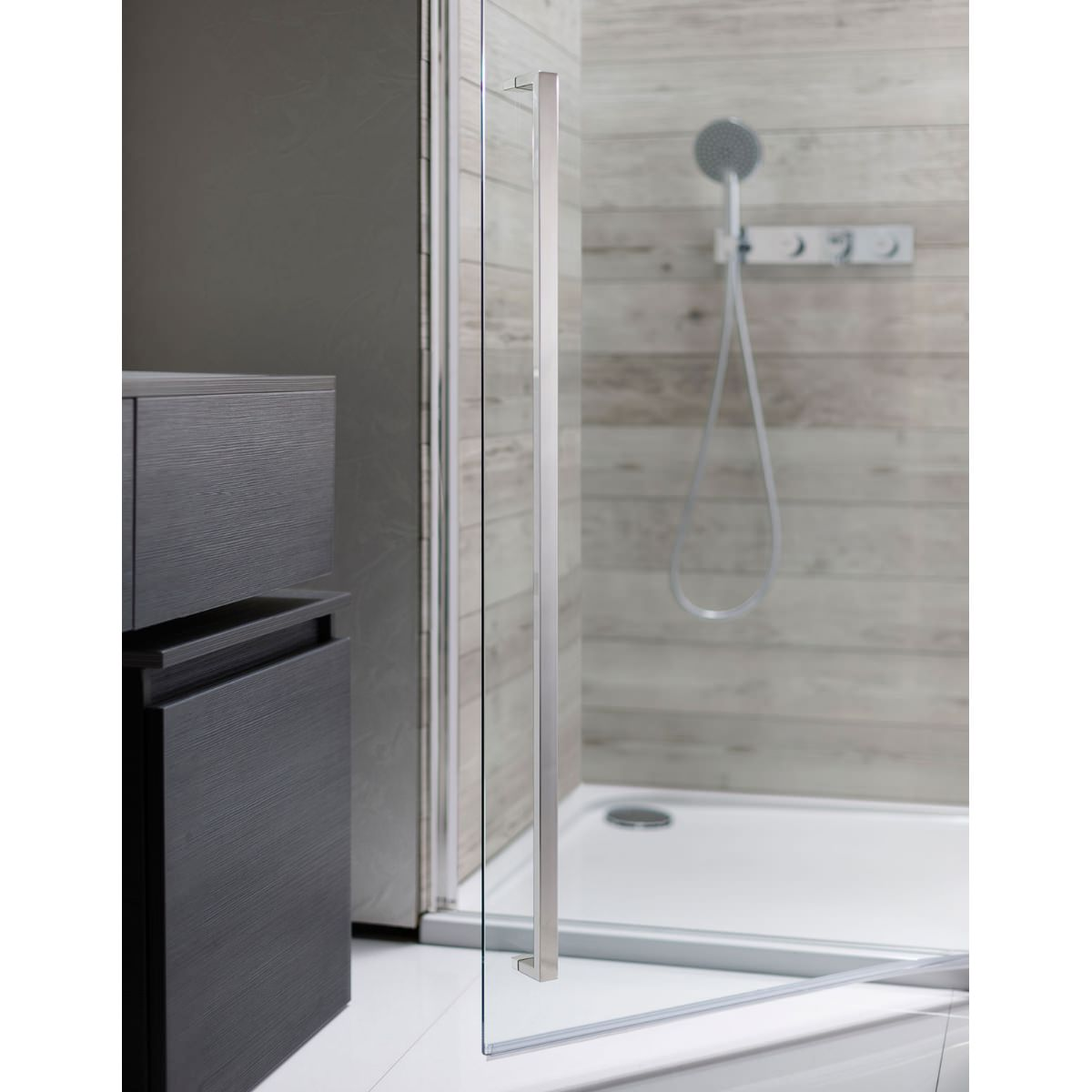 Simpsons Pier Hinged Shower Door 800mm 900mm Available