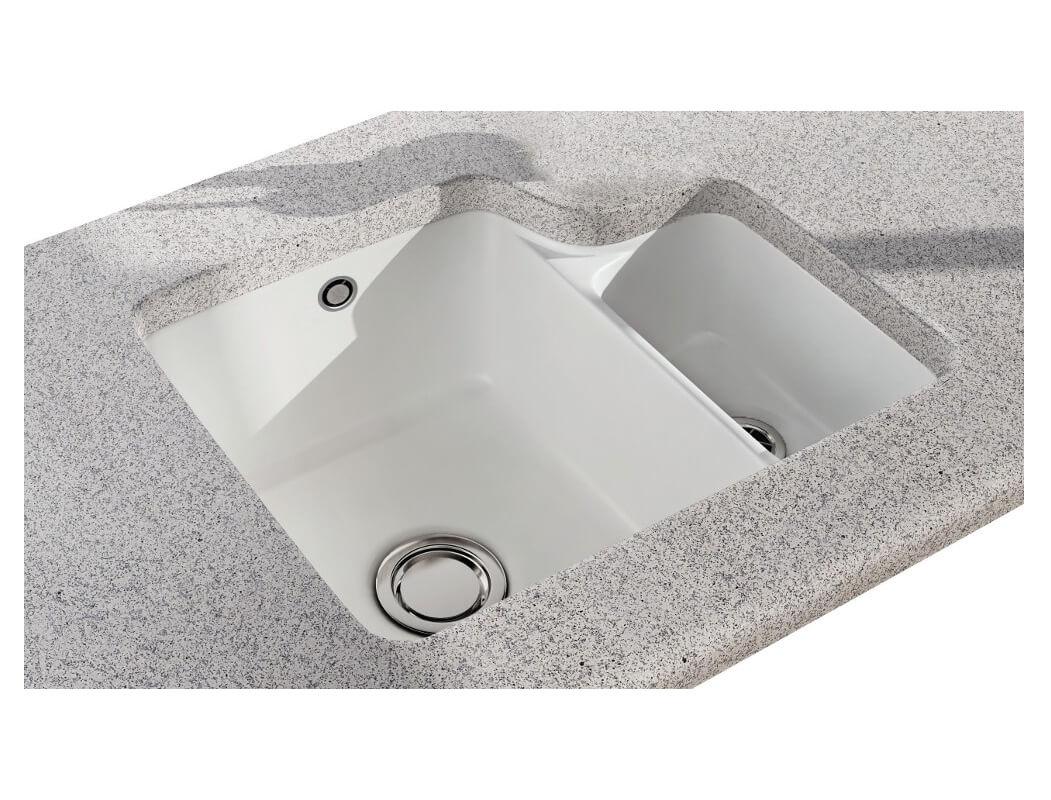 carron phoenix carlow 150 white 1 5 bowl undermount sink