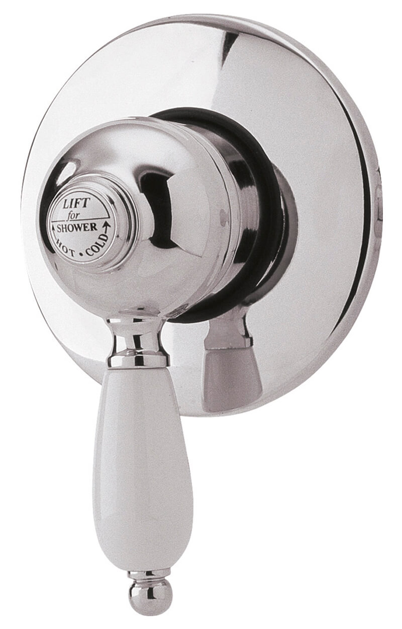 nuie edwardian exposed or concealed manual shower valve a3201