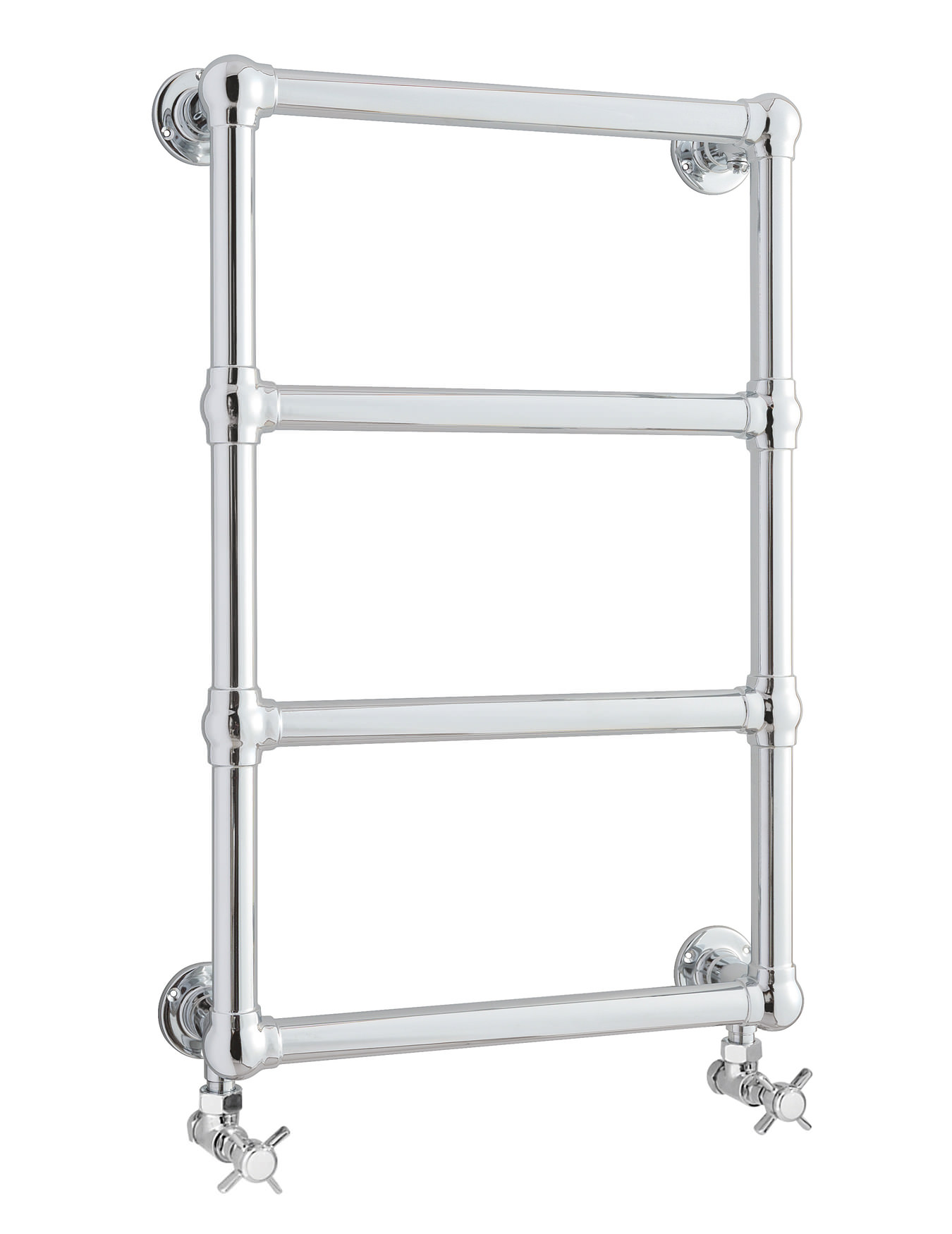 Old London Farringdon 498mm Wall Mounted Heated Towel Rail