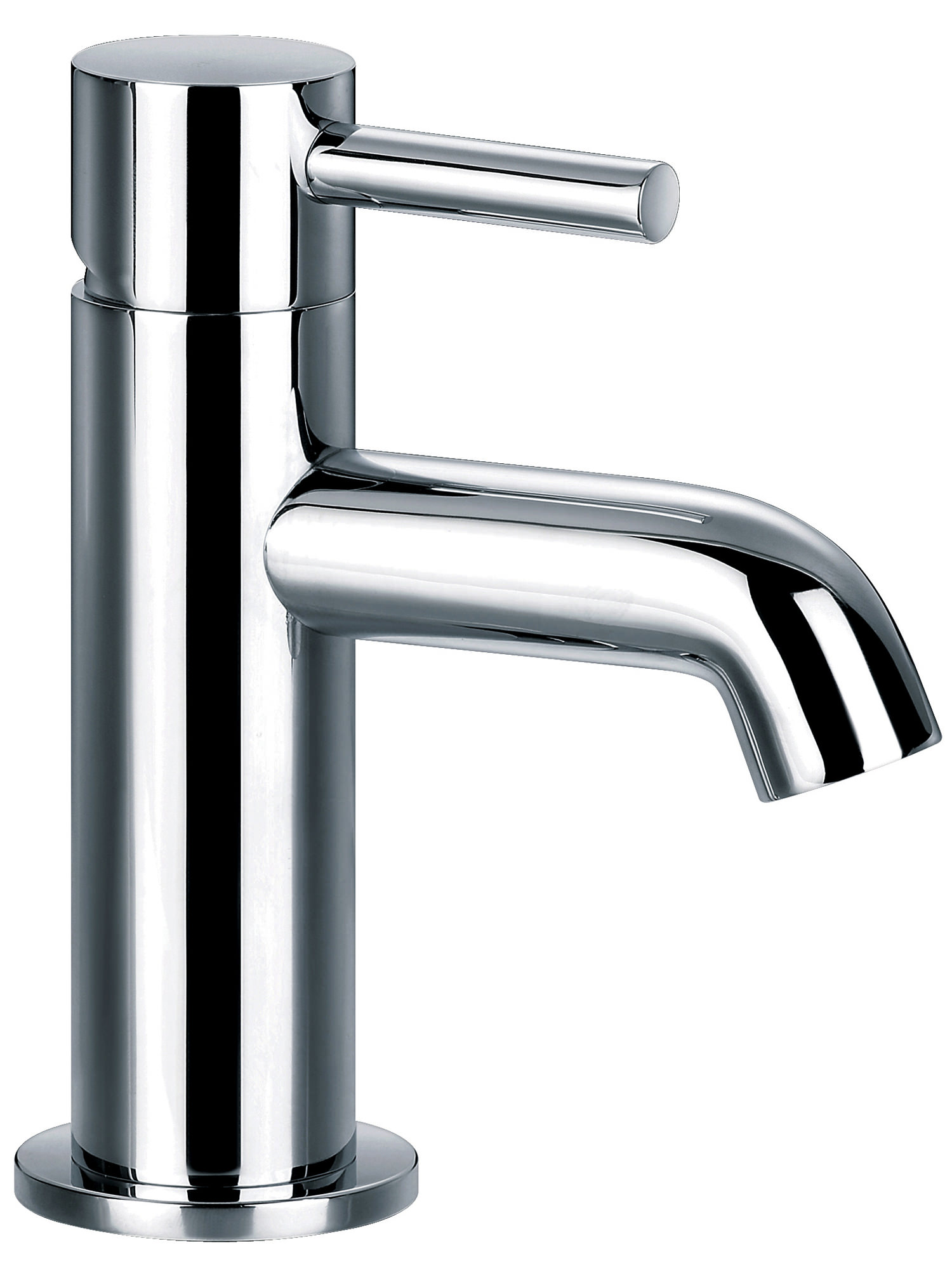 Flova Levo Mini Single Lever Basin Mixer Tap With Clicker