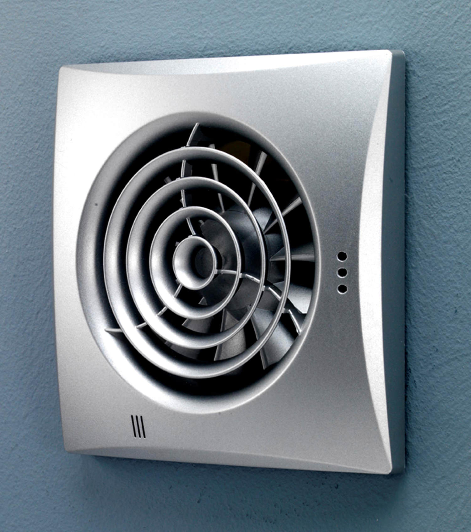 hib hush wall mounted extractor fan with timer and humidity sensor